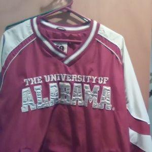 University of Alabama pull-over jacket